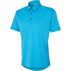 Ziener Canot Fietsshirt korte mouwen Heren turquoise